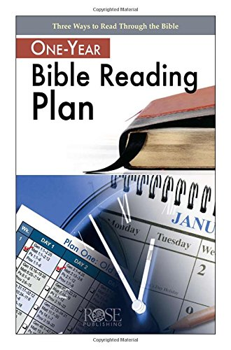 One-Year Bible Reading Plan (Read The Bible In One Year Chart)
