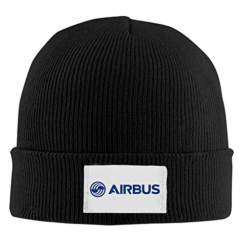 oyoloy-airbus-logo-blue-knit-cap-woolen-hat-for-unisex-black