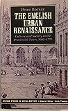 The English Urban Renaissance 9780198200024