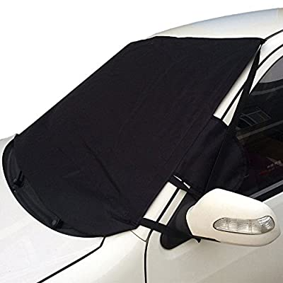 Aidoo Car Windshield Sunshade Snow Protector Foldable Front Cover Block UV Reflecting Oxford Fabric