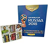 Panini Russia 2018 World Cup Official Licensed product Complete Sticker Collection + FREE Empty Hard Cover Album International Version
