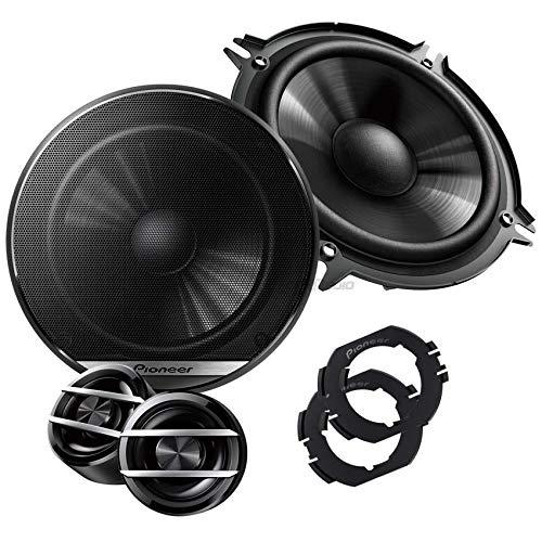 Pioneer Lautsprecher Boxen 130mm Kompo T/üren vorne oder hinten oder Heckablage E46 BMW 3er 98-07