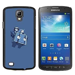 EJOOY---Cubierta de la caja de protección para la piel dura ** Samsung Galaxy S4 Active i9295 ** --Volar Personajes P0kemon
