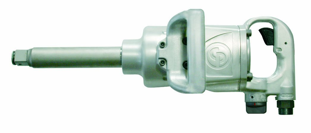 Chicago Pneumatic CP77786 1-In. Drive Impact Wrench - Pneumatic Tool with Efficient 6 Vane Motor. Corded Impact Wrenches