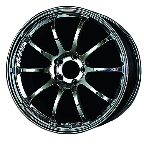 (Yokohama Wheel Advan RS-D Bright Chrome Wheel with Chrome Finish (19x10