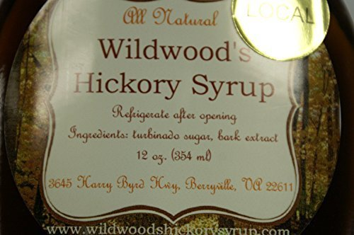 Wildwood's Original Hickory Syrup - 12oz. by Wildwood's Hickory Syrup (Syrup Shagbark)