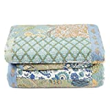 king bedspread quilt - Retro Comforter Set Floral Paisley Printed Pattern 100 Cotton Patchwork Bedspreads Quilt Sets King Size