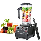 Blender 1400 Watt Commercial High Powered Kitchen & Restaurant Ice Juicer Blender for Shakes and Smoothies Heavy Duty Food Processor Mixer Maker