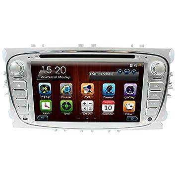 likecar 7 pulgadas 2 din coche navegación GPS DVD estéreo radio de coche para Ford Mondeo