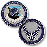 92nd Air Refueling Wing, Fairchild Air Force Base, WA Challenge Coin
