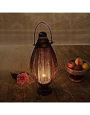 LOVELY Lámpara Retra de bambú Natural del Estilo tailandés, lámpara de Escritorio de Madera Caliente para la cabecera del Dormitorio, la Sala de Estar y la Tienda de café (tamaño : 62 * 27cm)