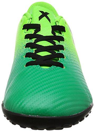 adidas X 16.4 TF - Botas de fútbol para Hombre, Verde - (VERSOL/NEGBAS/VERBAS) 45 1/3