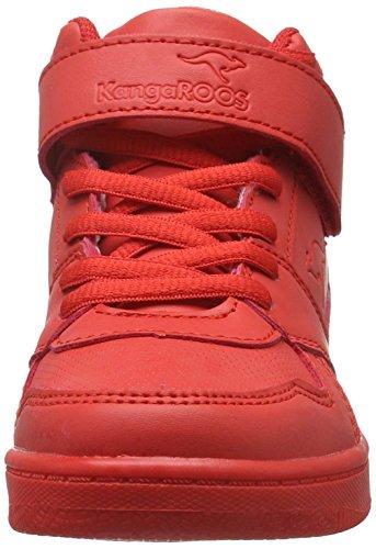 KangaROOS Skyline Kids - Zapatillas Unisex Niños Rojo - Rot (Red 600)