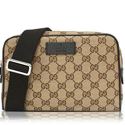 dbc33fa819f Gucci Men s GG Guccissima Small Canvas GG Waist Belt Fanny ...