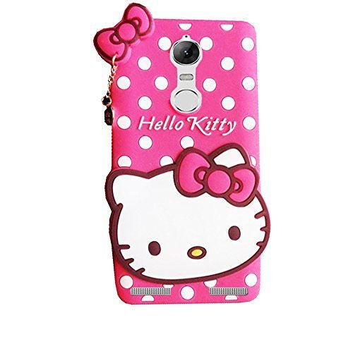 MOBICLONICS® Hello Kitty Back Cover for Lenovo K6 Power  Pink