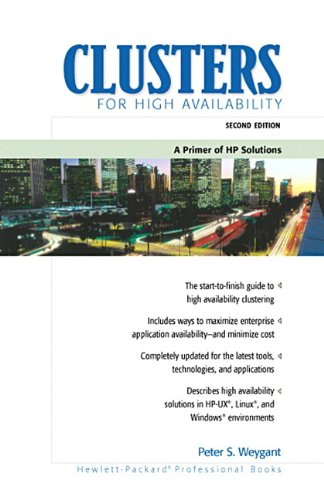 Download Clusters for High Availability: A Primer of HP Solutions (2nd Edition) Pdf