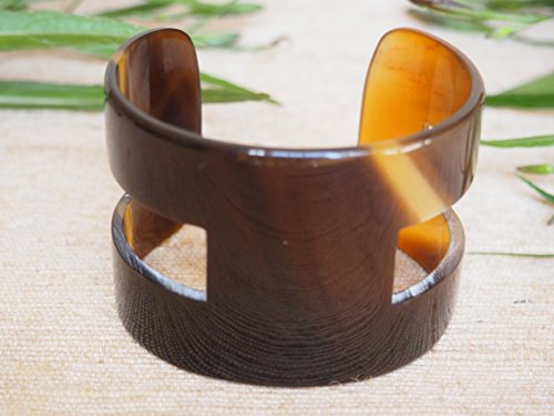 Natural Buffalo Horn Jewelry Bracelet H ()