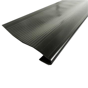 Vinyl Stair Treads (Black) 24u0026quot; (W) X 9u0026quot; (D