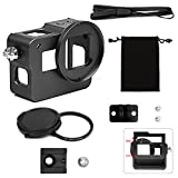 SHOOT Aluminium Alloy Skeleton Protective Housing Metal Case with Back Cover and 52mm UV Filter for GoPro Hero 6/HERO(2018) Action Camera