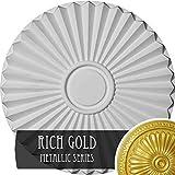 Ekena Millwork CM20SHRGS Shakuras Ceiling Medallion, Rich Gold