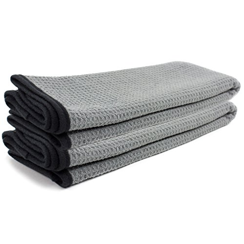 - Zwipes Auto 879-2 Professional Microfiber Waffle Drying Towel, 25 in. x 36 in, 2-Pack