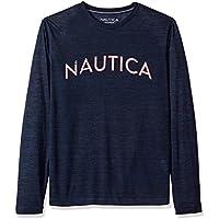 Nautica Men's Long Sleeve Graphic Sleep Tee