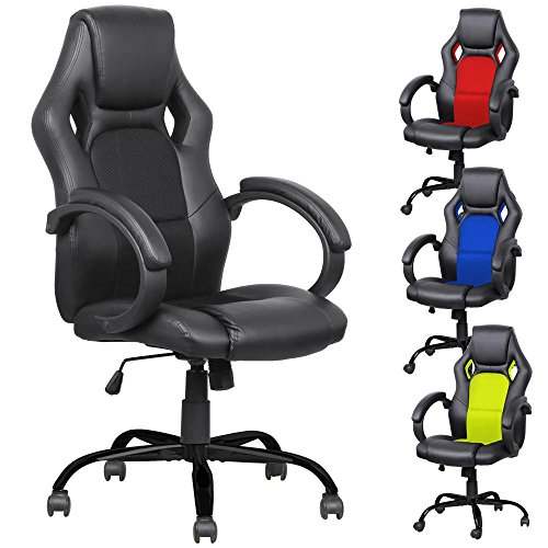 51fZLgdZNhL - Yaheetech Adjustable High Back Gaming Racing Car Style Swivel Tilt Chair