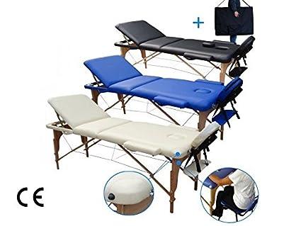 Lettini Da Massaggi 3 Zone Lettino Per Massaggio Legno Amazon It