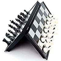 VHKD Magnetic Educational Toys Travel Chess Set with Folding Board for Kids and Adults 10X10X0.75 Inch Folding Chess…