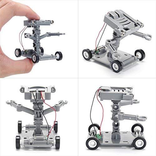 Bumatech Automaton Fabrication Outfit Youngster Robot Assembly Kit Kids Science & Toys - Diy Assembly Salt Water Powered Robot Kit Kids Science Educational Toy - Kidskin Shaver Tiddler]()
