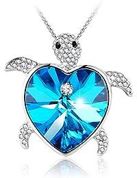 Grandma Gifts Caribbean Venus Animal Turtle Pendant Blue...