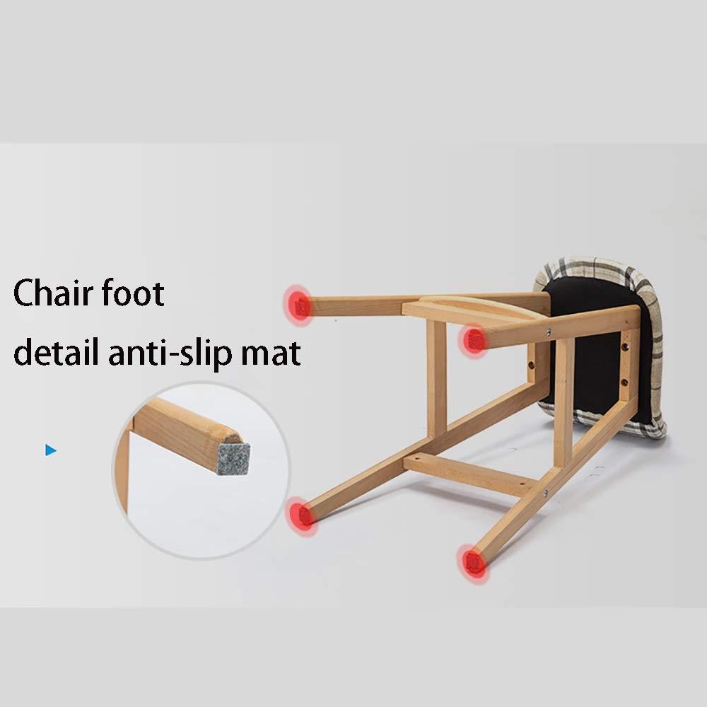 Amazon.com: Zhao Li High Stools Solid Wood Bar Stools ...