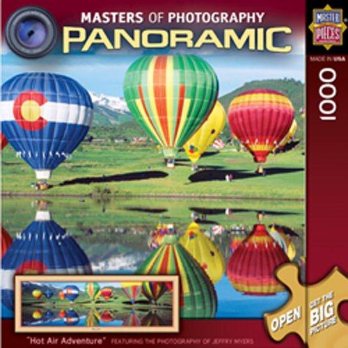 MasterPieces Masters of Photography Hot Air Adventure Panoramic Jigsaw Puzzle, 1000-Piece ()