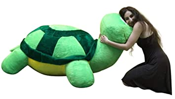 American Made Giant Stuffed Turtle 68 Inches Insanely Big Soft Plush