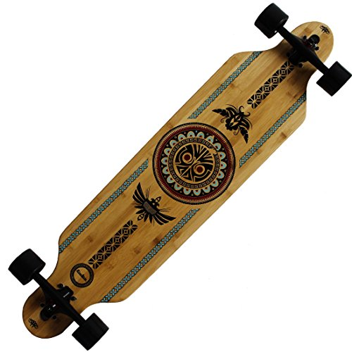 Why Choose Rimable Bamboo Drop Through Longboard (41 Inch, Polynesian)