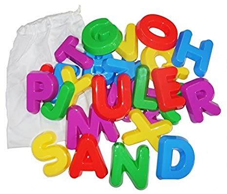 Learning Resources Aprender Recursos Plástico Arena Moldes - mayúsculas las letras del alfabeto: Amazon.es: Juguetes y juegos