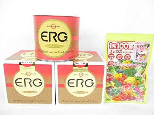 エルグゴールドスペシャル2缶+「1粒100食コッカス」1袋付セット B0155PWYX0