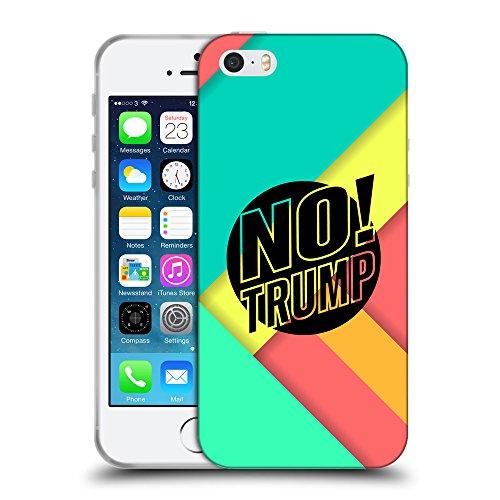 Super Galaxy Coque de Protection TPU Silicone Case pour // Q04160544 Plus de trump abstract moderne // Apple iPhone 5 5S 5G SE