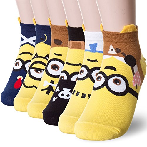 Popular Minion Character Socks