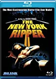 The New York Ripper [Blu-ray] cover.
