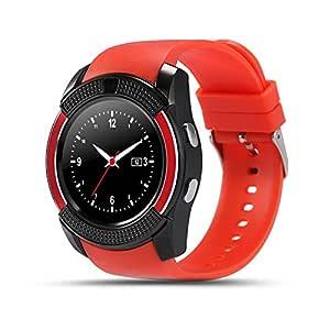 V8 Reloj Inteligente SIM y Tarjeta de TF Apoyo Bluetooth ...