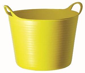 TUBTRUGS Medium 10 Tub, 6.5 gallon, Yellow