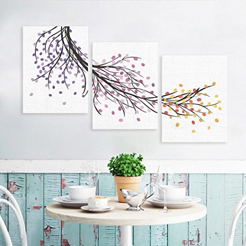 Snowfoller Simple Modern Style Combination Fingerprints Painting, Custom Wedding Guestbook Wedding Guestbook Poster Home Wall Decoration