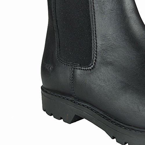 Horze Steel Toe Jodhpur Sicherheits-Stiefel Schwarz (BL)