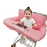 Shopping Cart Covers for Baby Girl, Cotton High