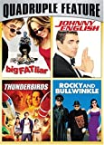 Family Fun Pack Quadruple Feature (Big Fat Liar / Johnny English / Thunderbirds / Rocky and Bullwinkle)