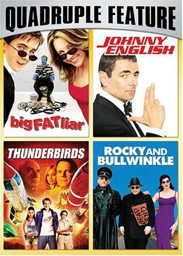 Family Fun Pack Quadruple Feature (Big Fat Liar / Johnny English / Thunderbirds / Rocky and - Universal Store Studios Outlet