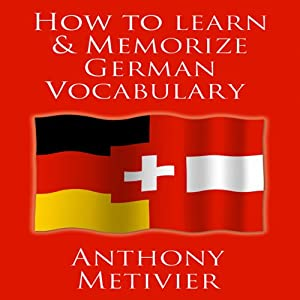 How to Learn and Memorize German Vocabulary Hörbuch