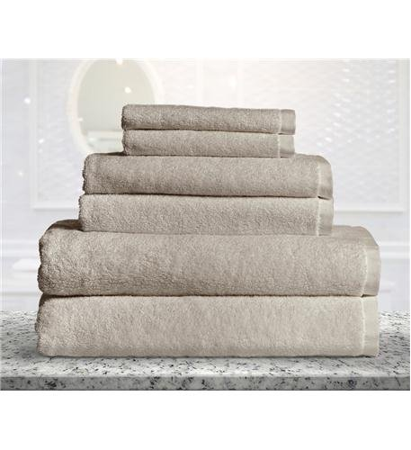 100% Bamboo Fiber - Towel Set (6 Piece), (100% Bamboo Towel Set)