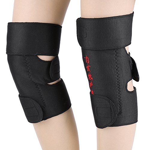 Tourmaline Spontaneous Self Heating Magnetic Therapy Knee Pad - 4